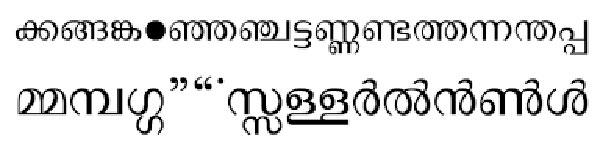 Chilanka Bangla Font